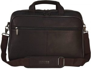 "Kenneth Cole Reaction ""I Rest My Case"" Leather Briefcase"