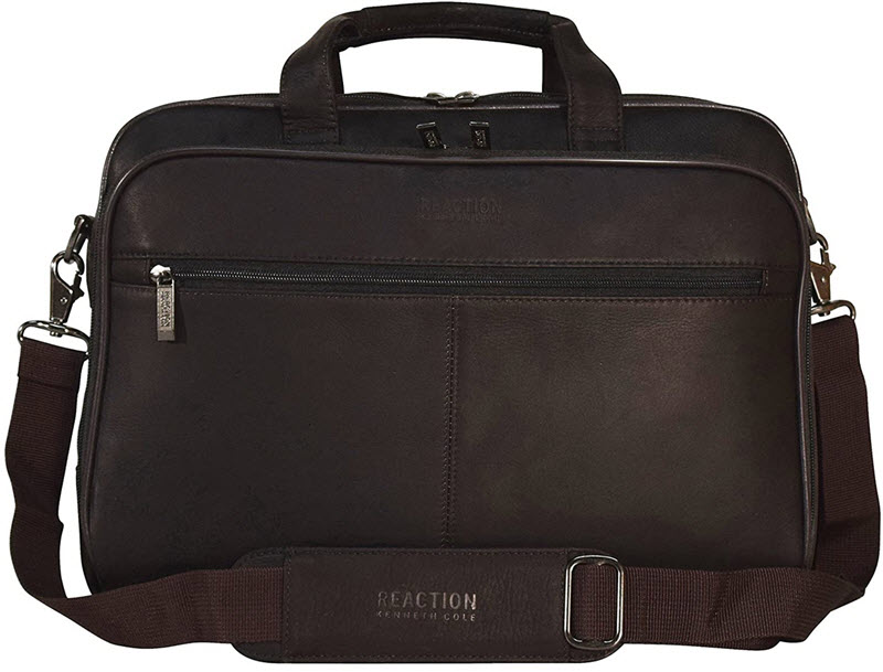"""Kenneth Cole Reaction """"I Rest My Case"""" Leather Briefcase"""