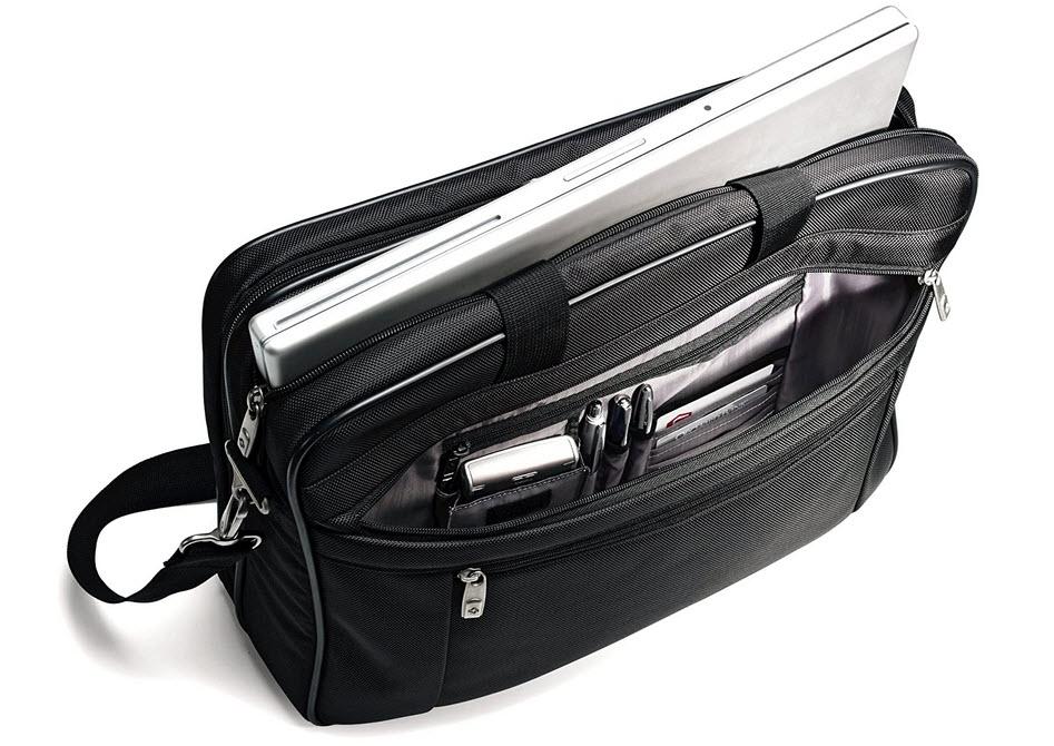 Samsonite Toploader Briefcase full
